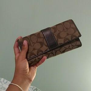 A coach wallet